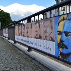 Baner k 180. výročí narození Antonína Dvořáka